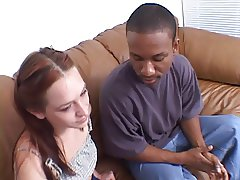 Interracial fuck & blow-job