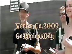 2009 venice,ca. go topless day