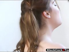 Little girl Kasey Warner drilled by BBC