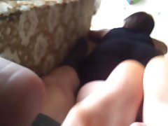 Ex teen gf footjob