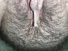 Dirtypantygrl has her first hairy creampie captured by me