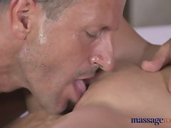 Massage Rooms Hot Russian model loves cock