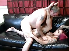 old guy fucks tattooed girl