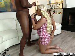 MommyBlowsBest BabySitter And Milf On BBC