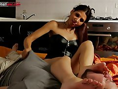 Your Punishment Episode 2  Part 4 -B  Foot Worship