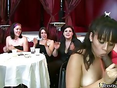 Crazy blowjob party
