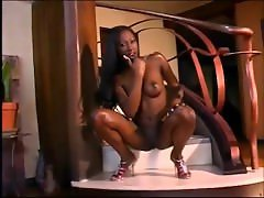 Sexy chocolate slim goddess India-Sexy strip tease