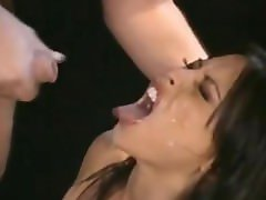 Facial Cumshots Compilation (gals surprised or disgusted)