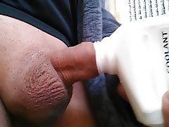 My dick in hole