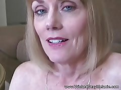 Melanie Lets  son Fuck Her