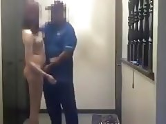 Pizza Guy Gets Lucky Fuck