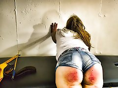 Rampage - (an Out of Control Girl Spanked!)