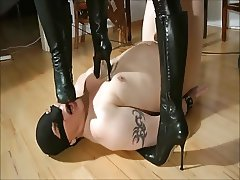 Femdom Humiliation before going out
