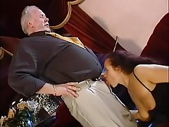 young seduce old man in pub