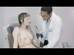 Teenager on the control of a black gynecologist.