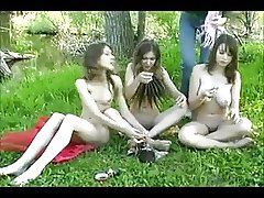 lovely teens outdoor