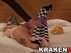 A french tourist in a BDSM submission video from Krakenhot