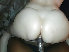 Ashley taking my BBC! (quick vid)