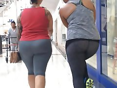 Spandex Big Booty Milf (Double Trouble) Part 1