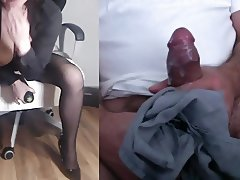 Wife Milking Hot Cock 4