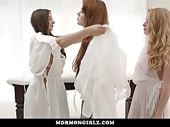 MormonGirlz-  Two Girls Open Up Redheads Pussy