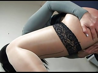 Busty Secretary Fucking In Office