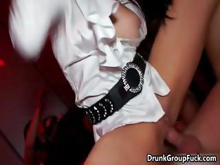 Pack of horny Euro babes fucked part6