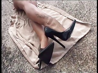 LGH - Tamia High Heels Pumps am Strand