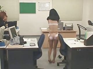 Japanese office humiliated