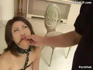 Corrupt Asian sexy mama with a far-out gine gets some slave training