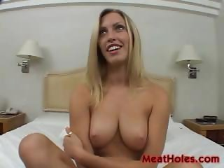 Blonde Cassie Young Plays With Old Dicks