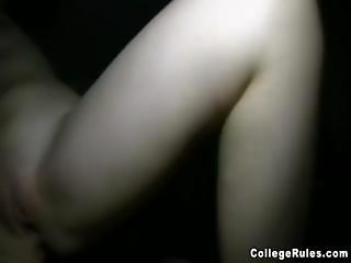 College coed is caught on film as she gets fucked hard in room