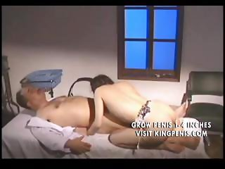 Japanese hot chick gets fucked by an old man in the hospital