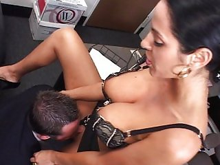 Hot MILF fucks her employee