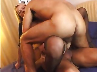 hot milf needs three cocks