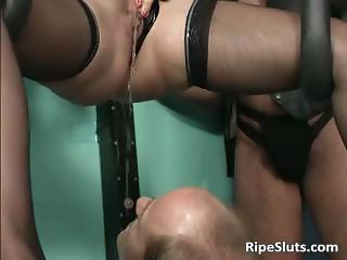 Kinky and fetish action with slave part5