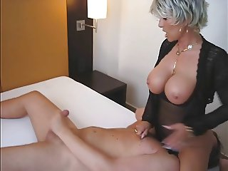 Double dildo fun