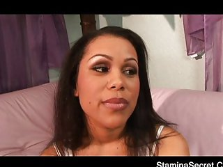 Hot Latina fucked hard