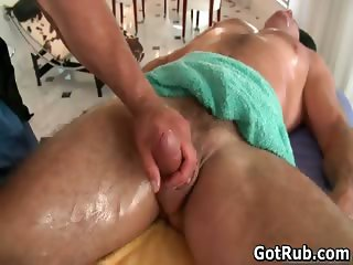 Fine guy gets amazing gay massage part4