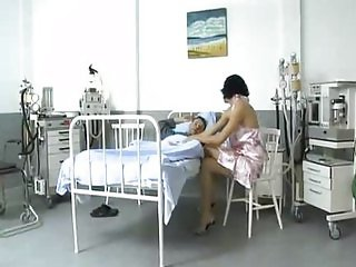 Hot Aliz gangbang in hospital