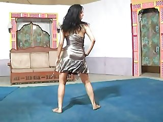 Stage Dance Boob Show