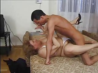 GRANNY AWARD 3  mature bbw  with a young man