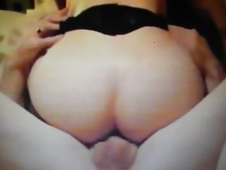Friend's wife Nadja while he films and wank 7