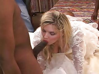 Wedding night gangbang part 1