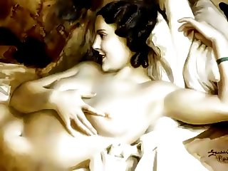 Sensual Erotic Art of Lev Tchistovsky