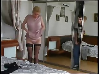 Caught By Step Mother