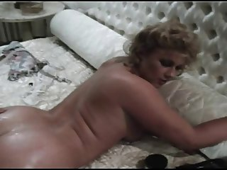 Vintage Brit Stevie Taylor Gets Her Asshole Reamed