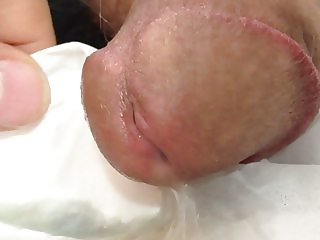 My cock cumming .. again