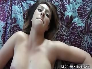 Sexy brunette bitch gets fucked hard part2