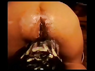 Hugest dildo fuck 2 ass insertion 2  -RemiXX-